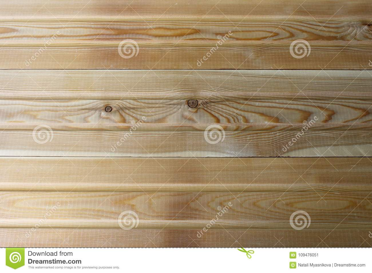 new natural yellow wood fence fresh panels texture stock image