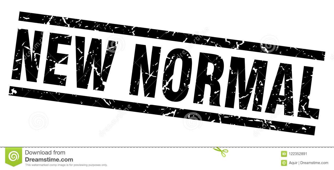 New Normal Stamp Stock Vector Illustration Of Sign 122352891
