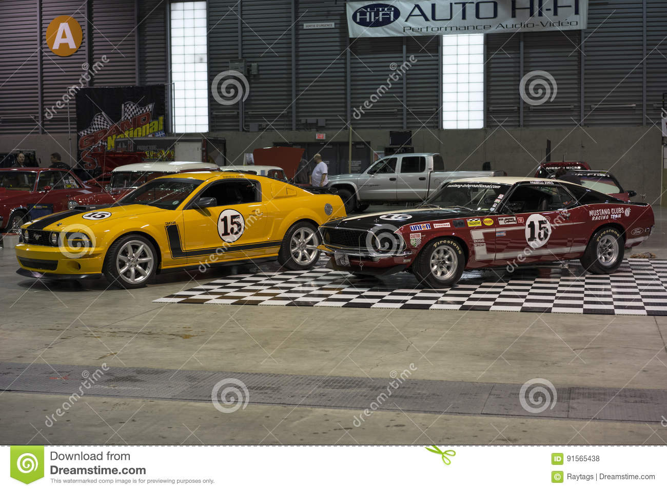 New and old race cars editorial stock photo. Image of 1969 - 91565438