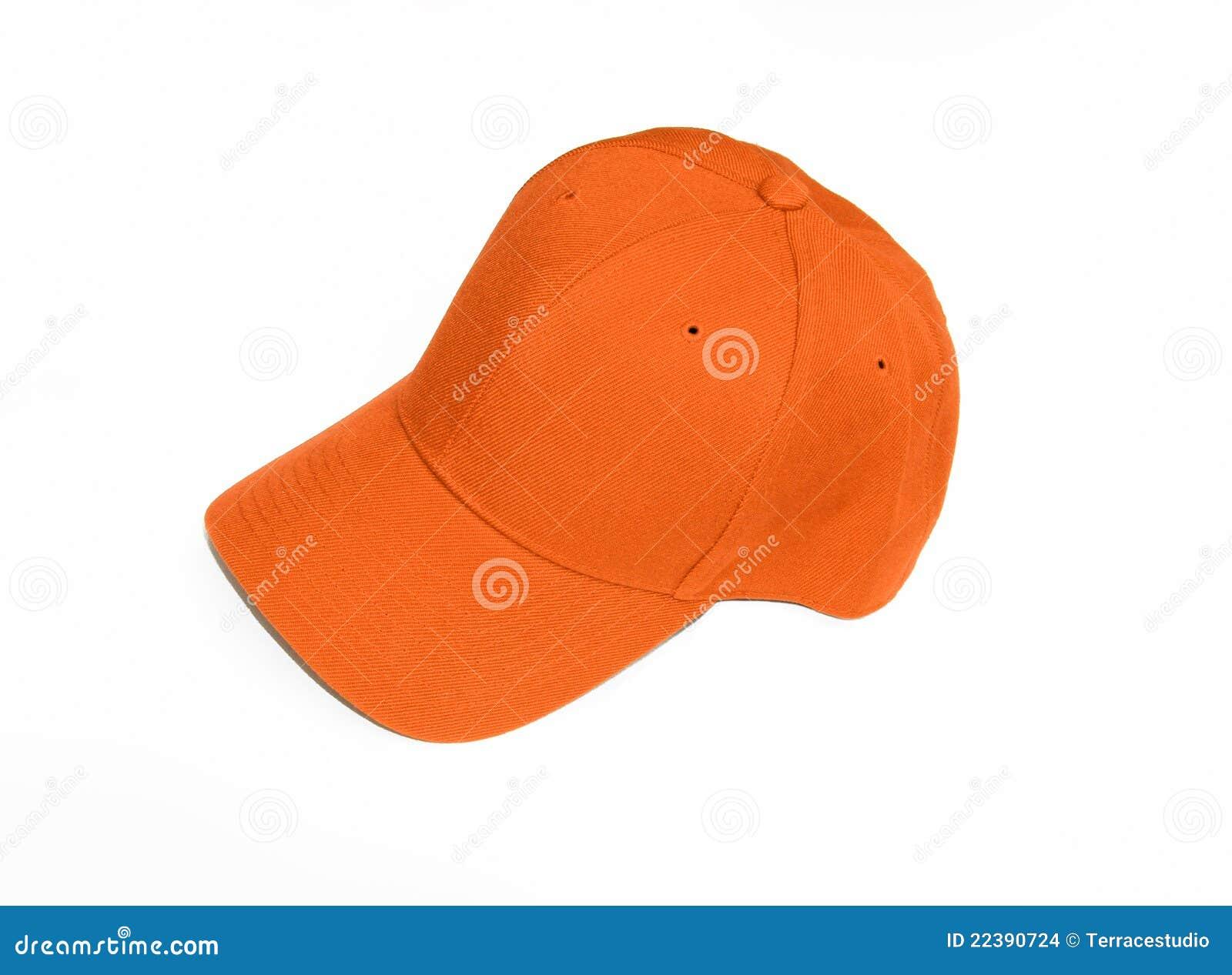 New Orange Baseball Cap Hat