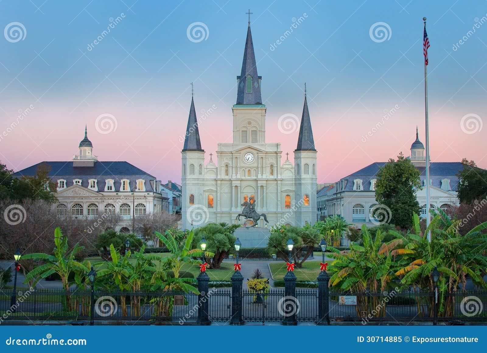 New Orleans Jackson Square Sunrise