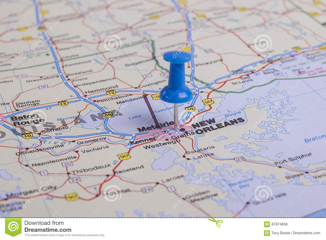 New Orleans La Stock Photo Image Of Field Accurate 87874856