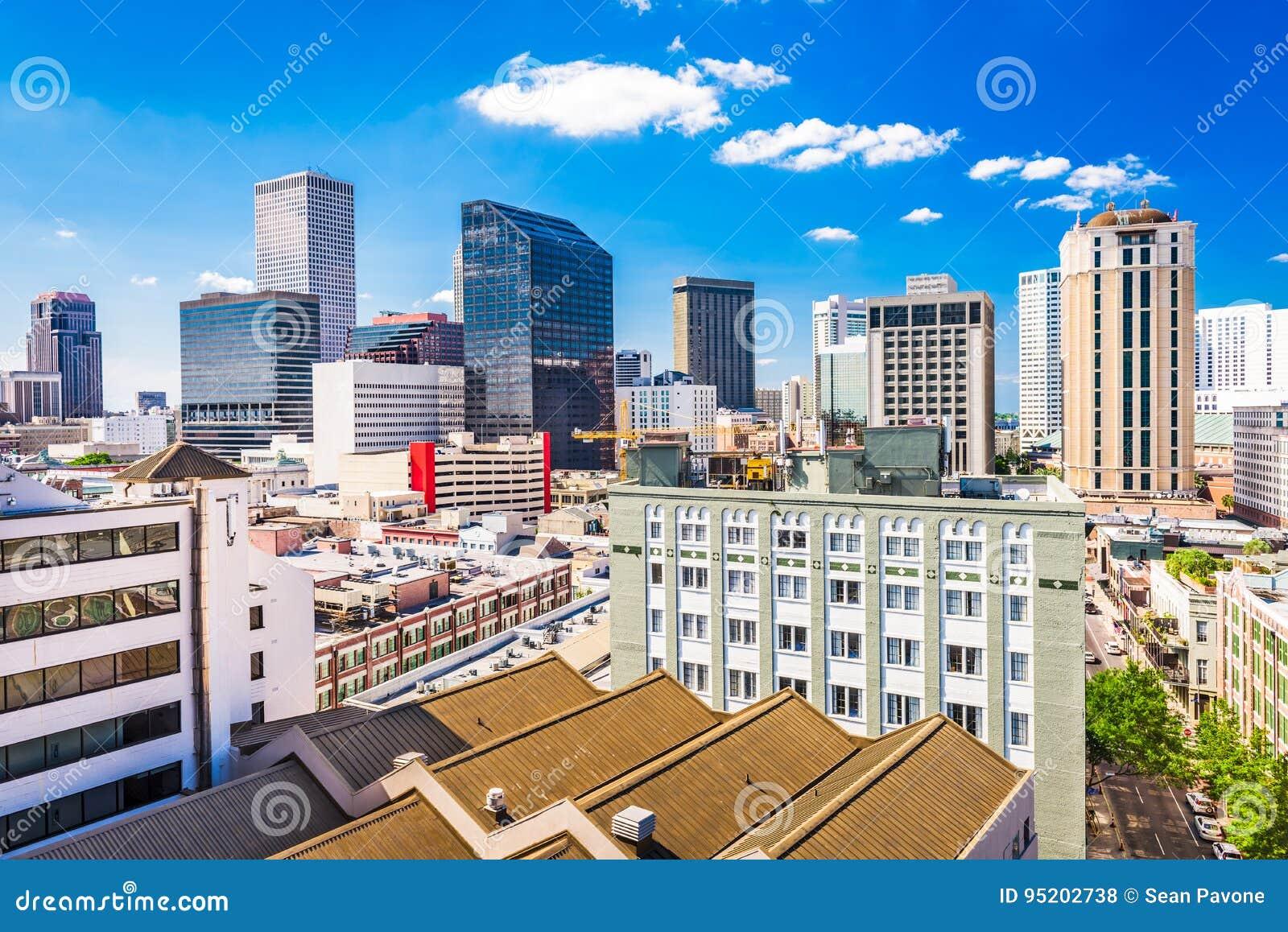 New Orleans, Lousiana, USA Skyline.