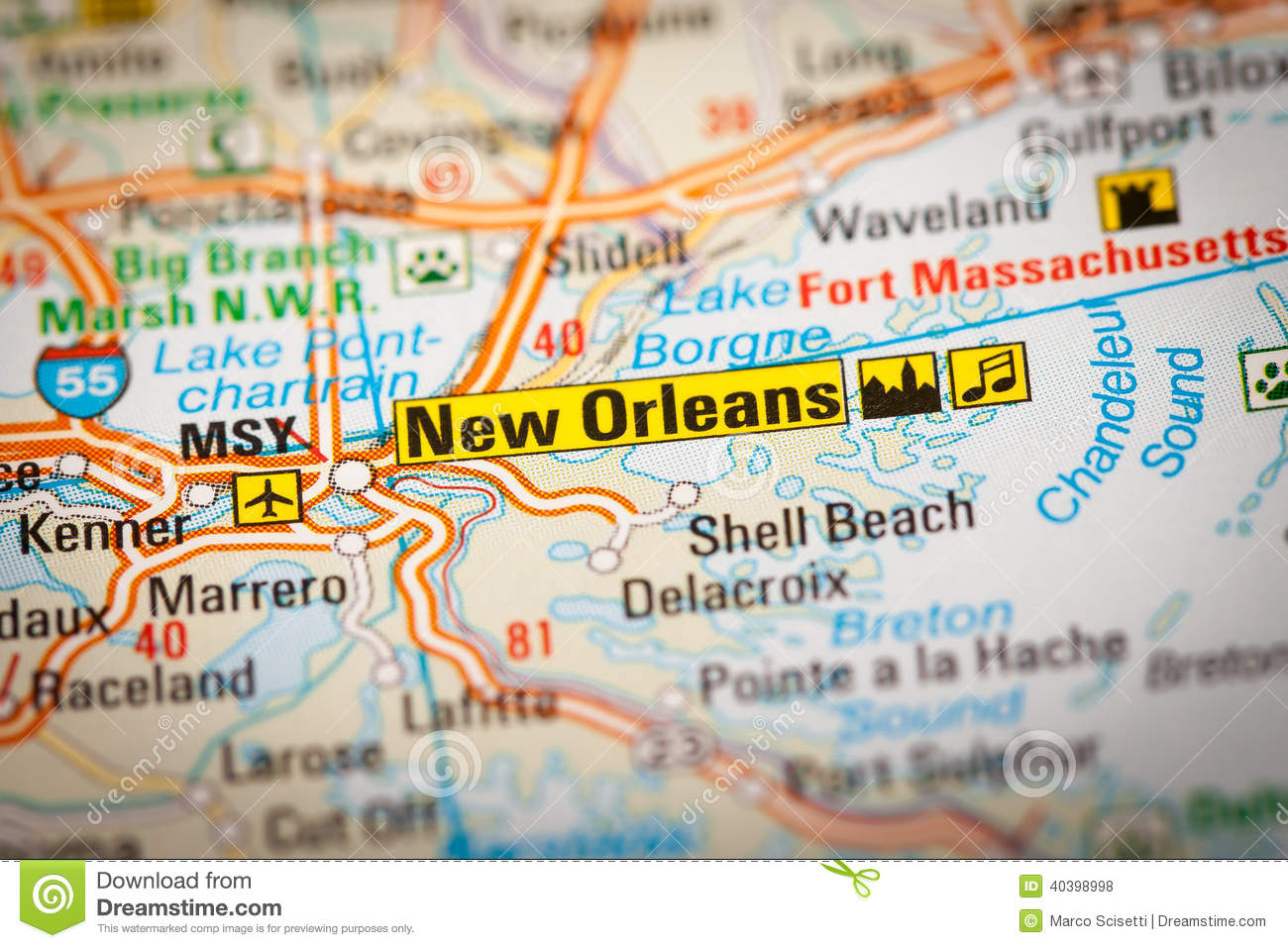 Royalty Free Stock Po Download New Orleans