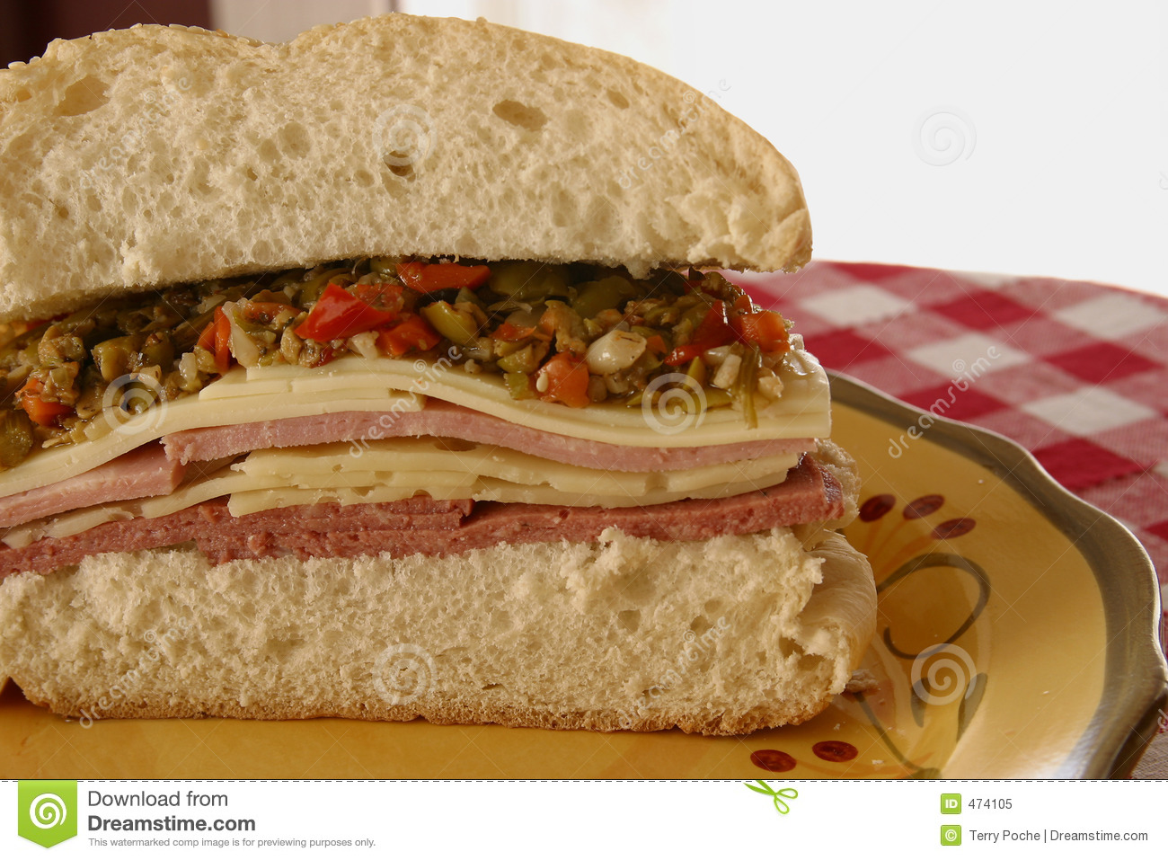 the new orleans new orleans muffuletta twist on a classic new orleans ...