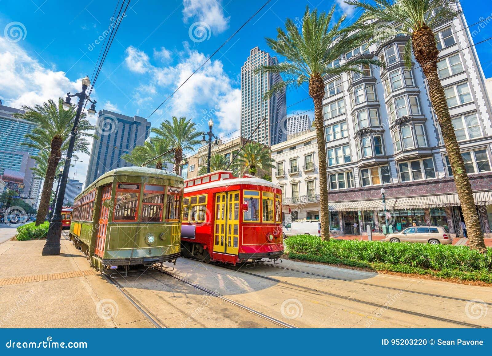 New Orleans spårvagnar