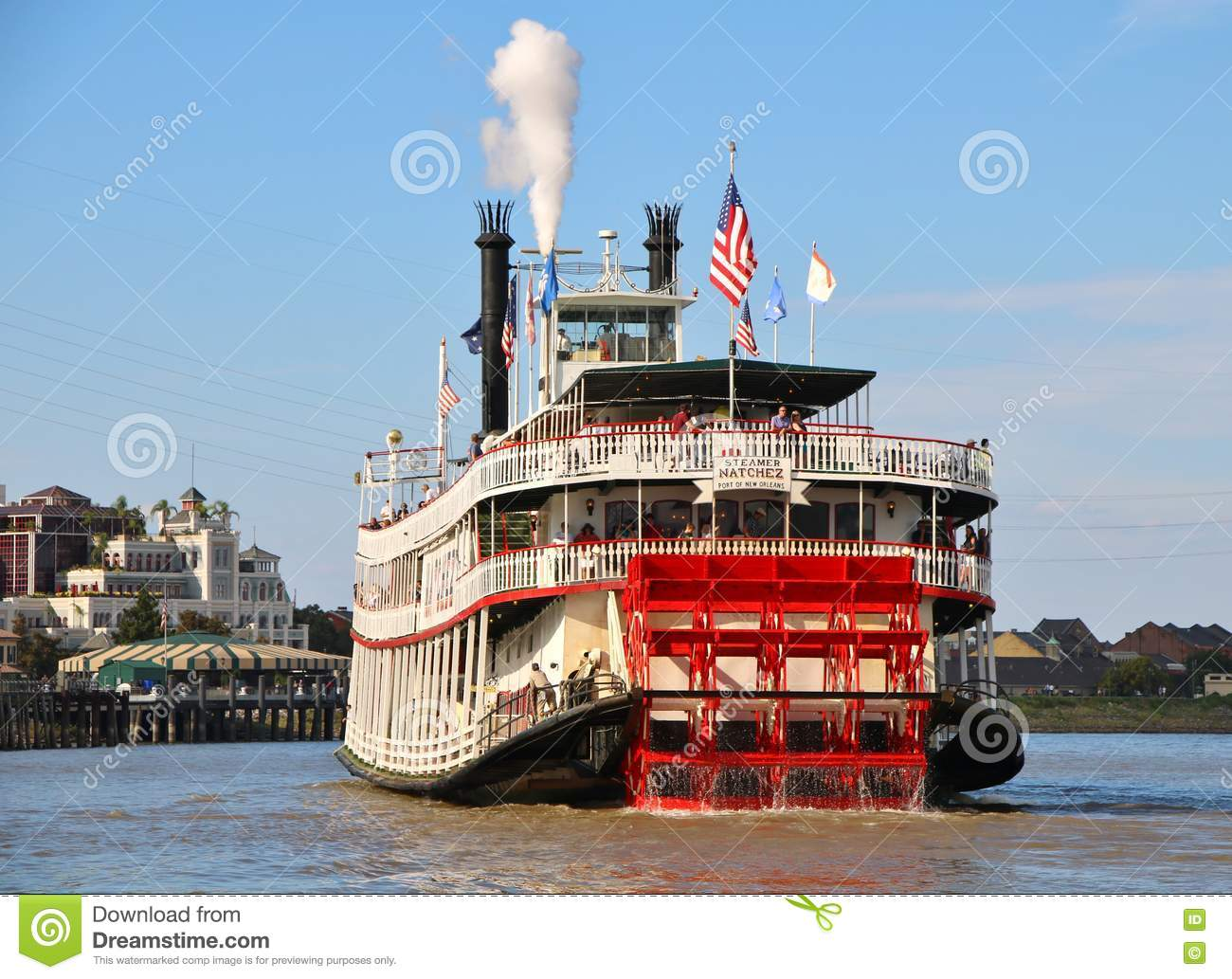 Prices For Mississippi River Cruises >> New Orleans Steamboat NATCHEZ, Mississippi River Editorial Image - Image of company, european ...