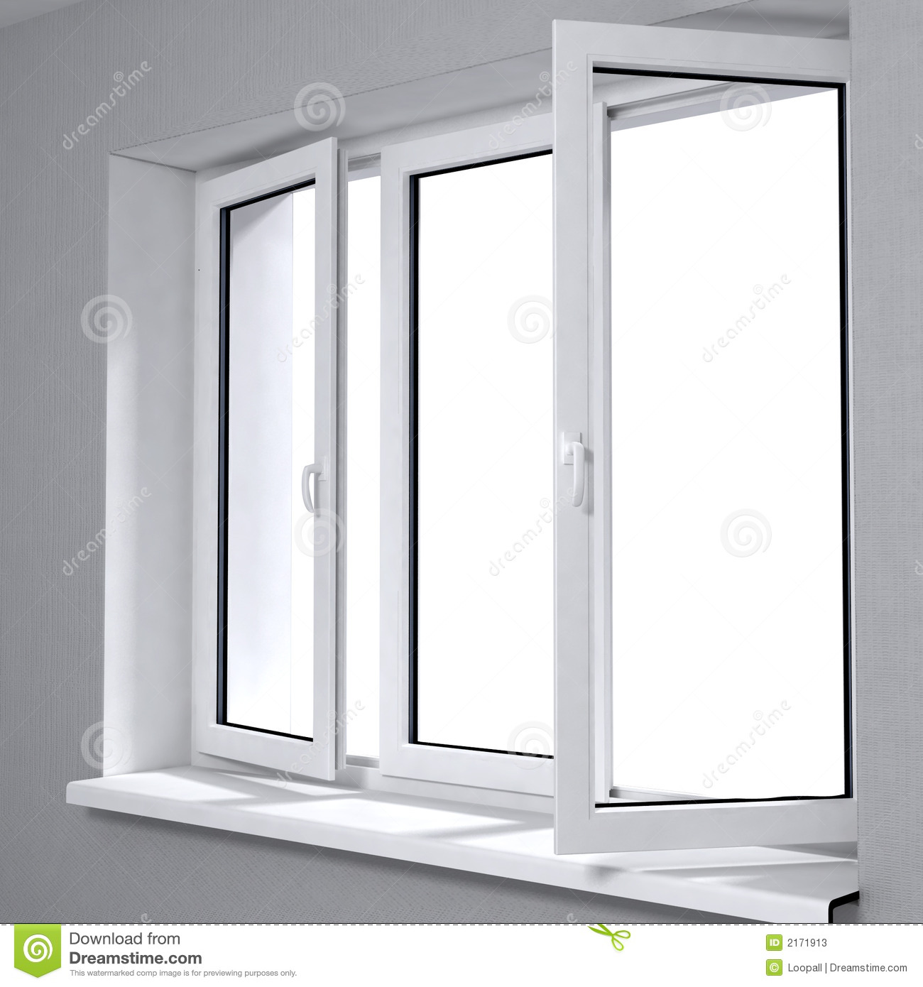 New plastic window stock image image of frame dreaming for Window plastic