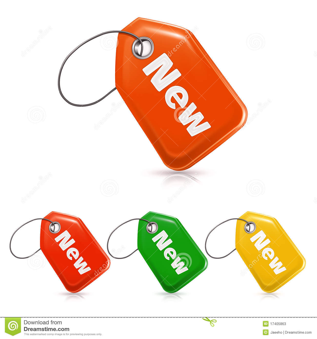 Stock photos new price tag icon