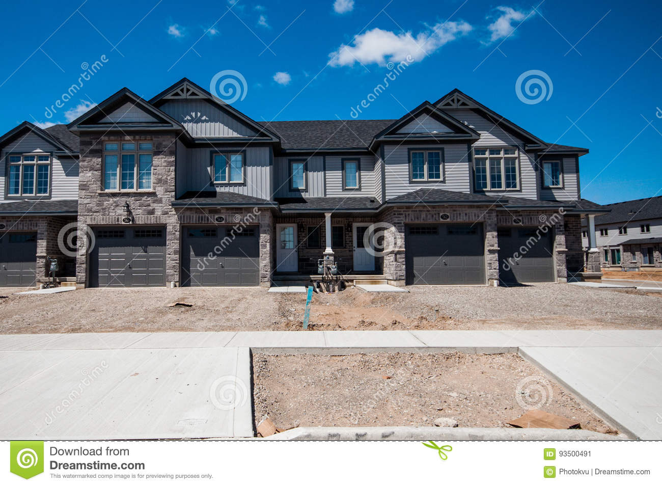Nice New Private Houses In Kitchener