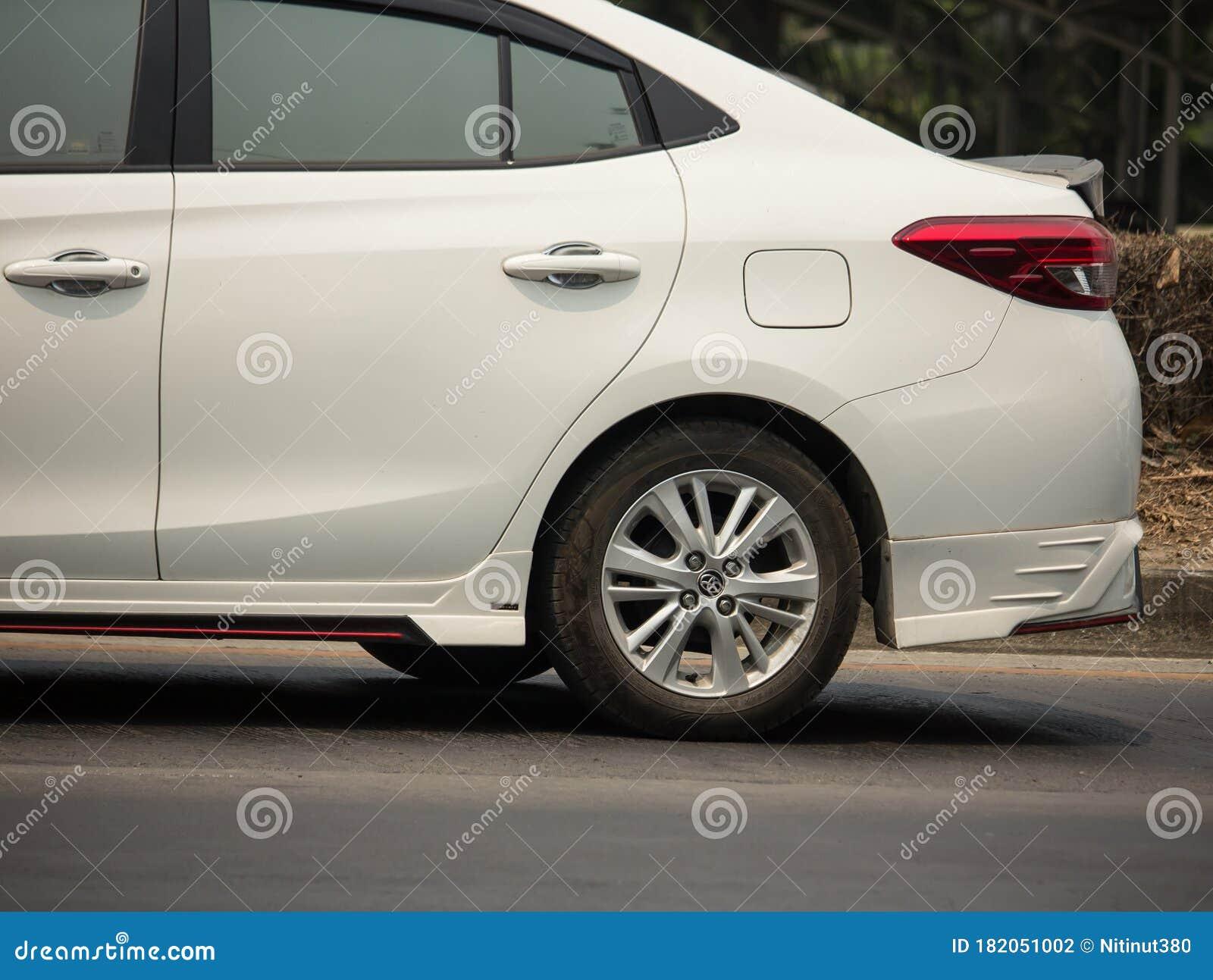 New Private Sedan Car Toyota Yaris Ativ Eco Car Editorial Photography Image Of Holiday Editorial 182051002