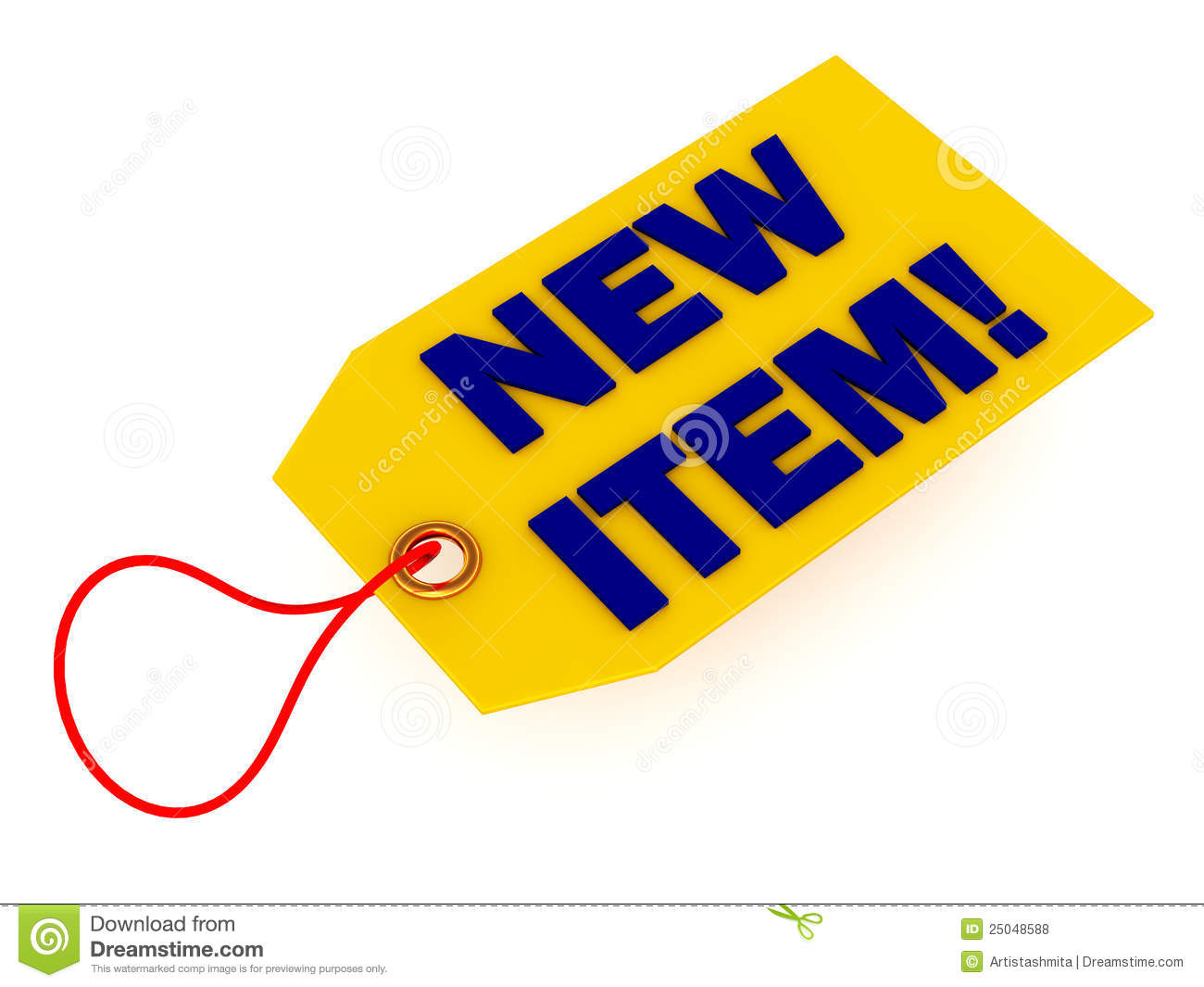 Item: New Product Item In Store Stock Illustration. Illustration