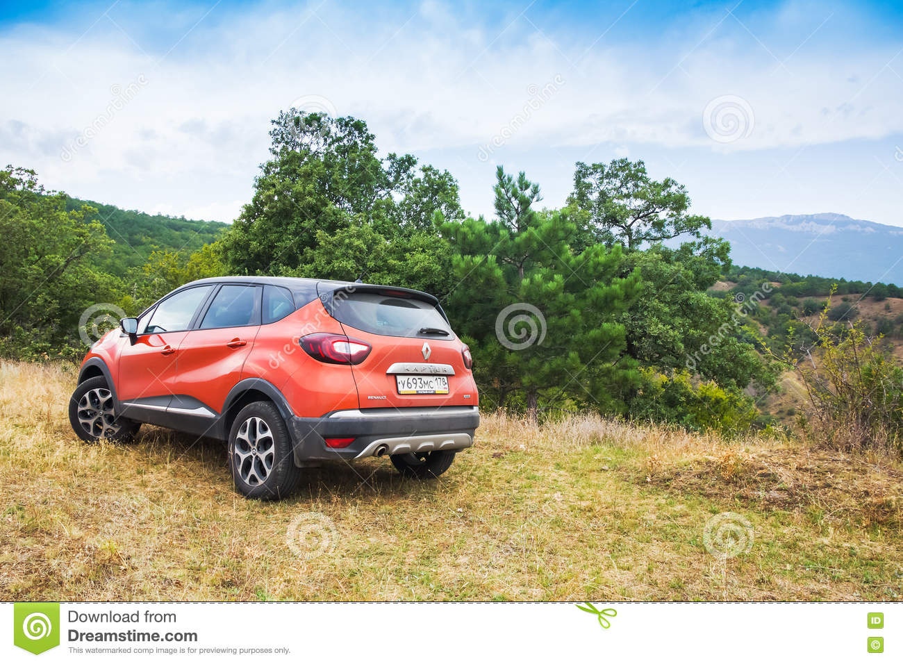 New Renault Kaptur car