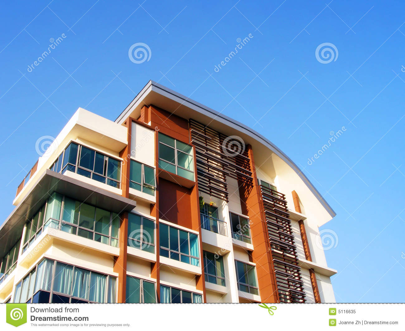New residential apartments details