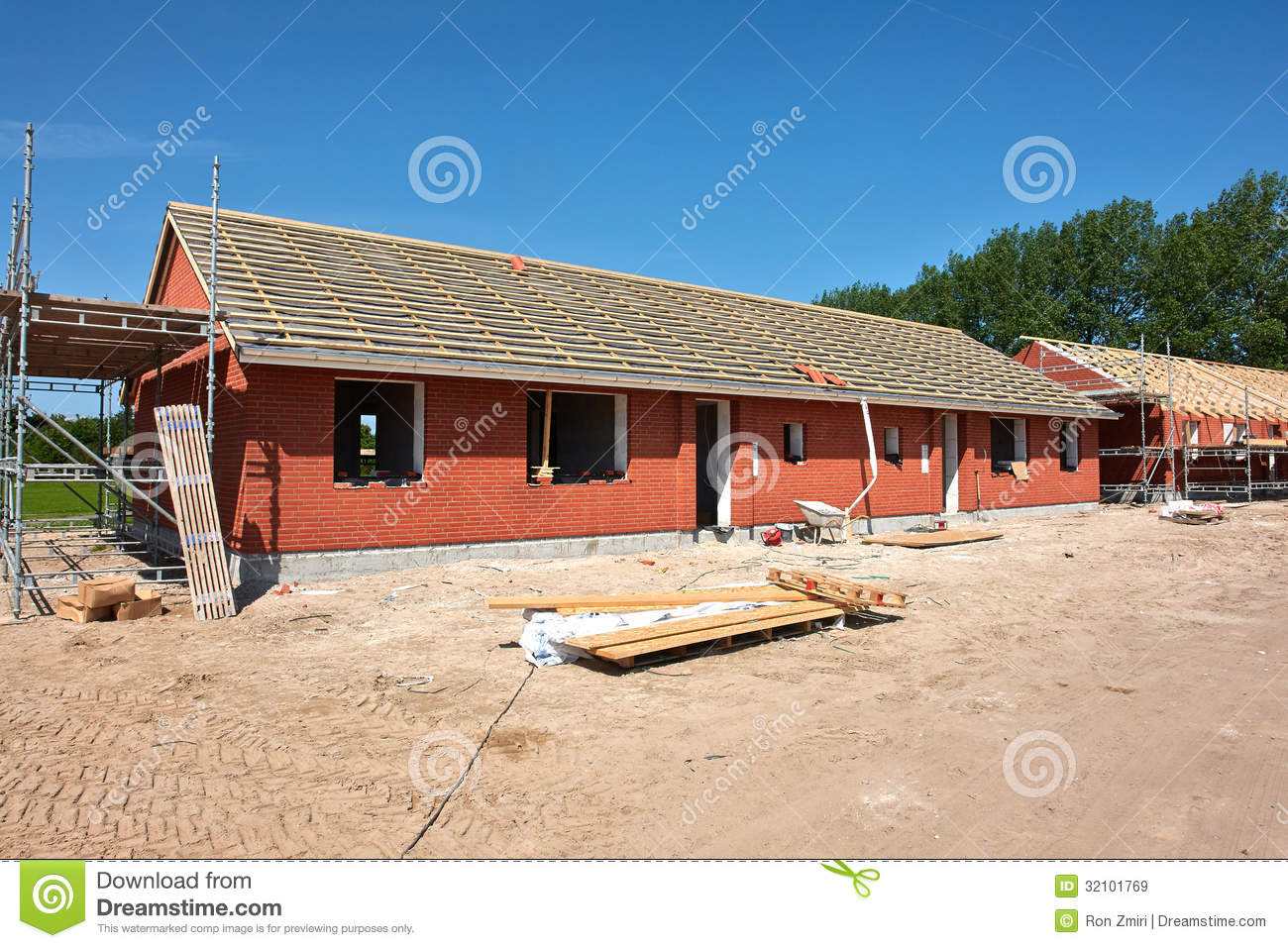 New residential home house construction royalty free stock for Home construction websites