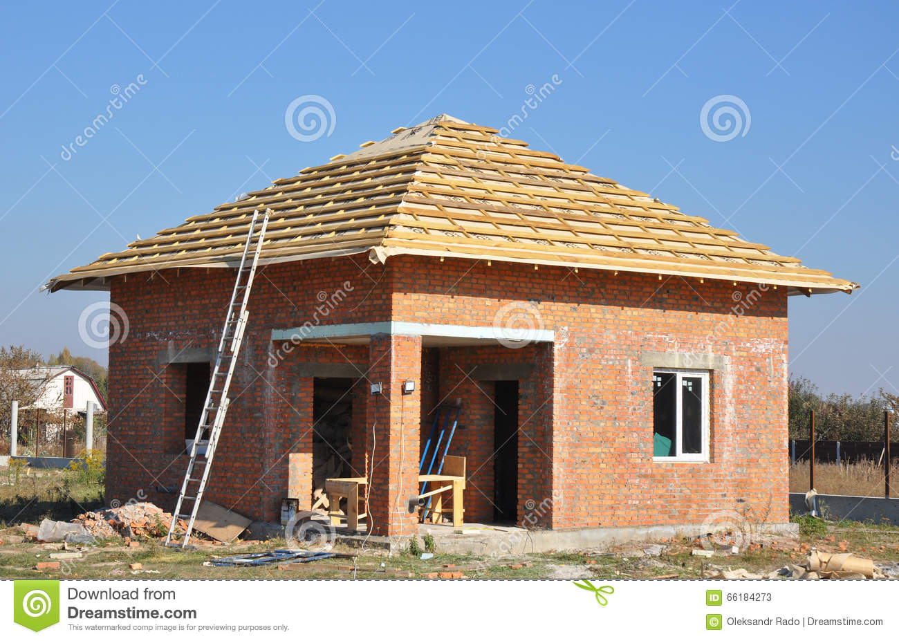 New roof membrane coverings wooden construction home for New roof design