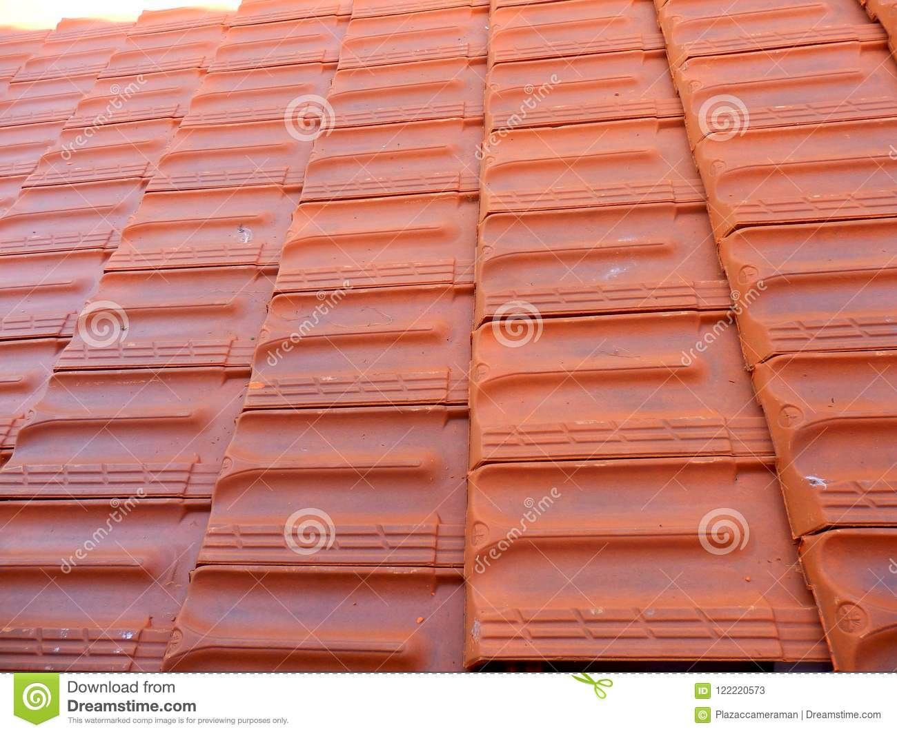 New Roof Tiles stock image. Image of architecture, rooftop - 122220573