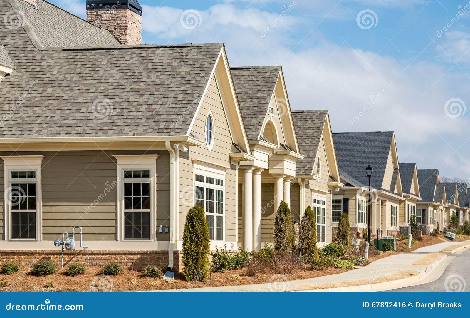 New Row Houses