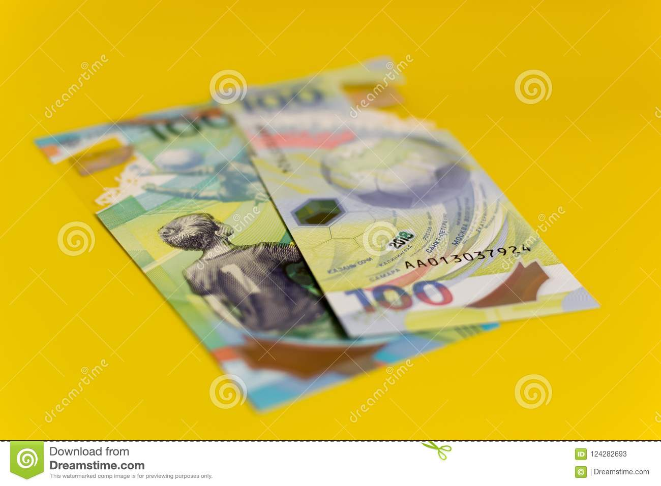 New Russian hundred rubles