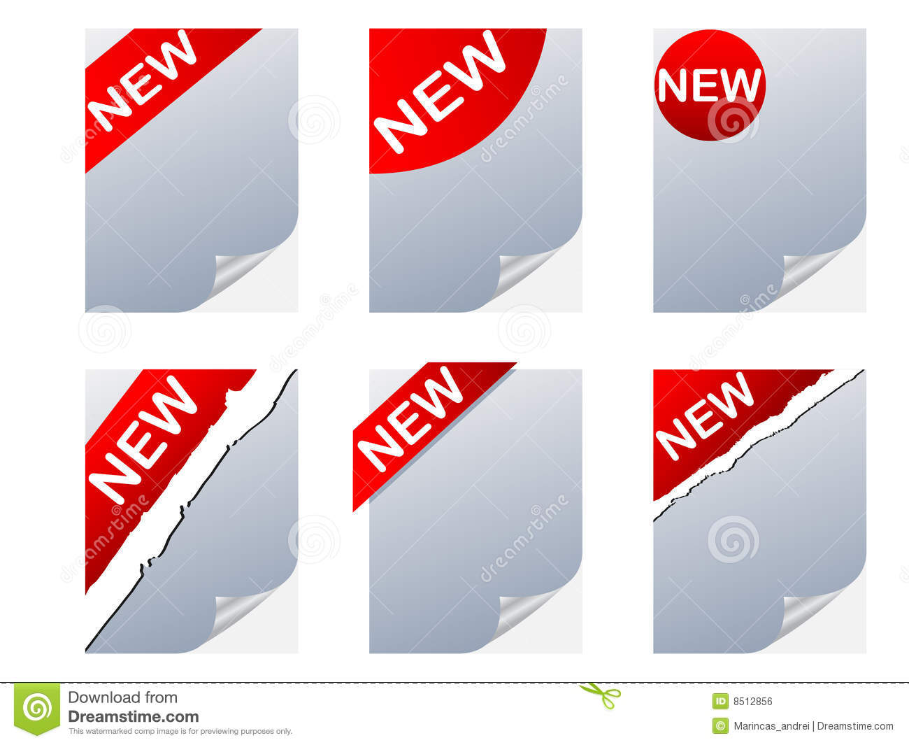 NEW Sign Royalty Free Stock Image - Image: 8512856