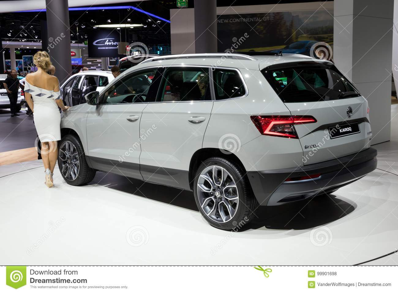 New 2018 Skoda Karoq Suv Car Editorial Stock Photo Image Of