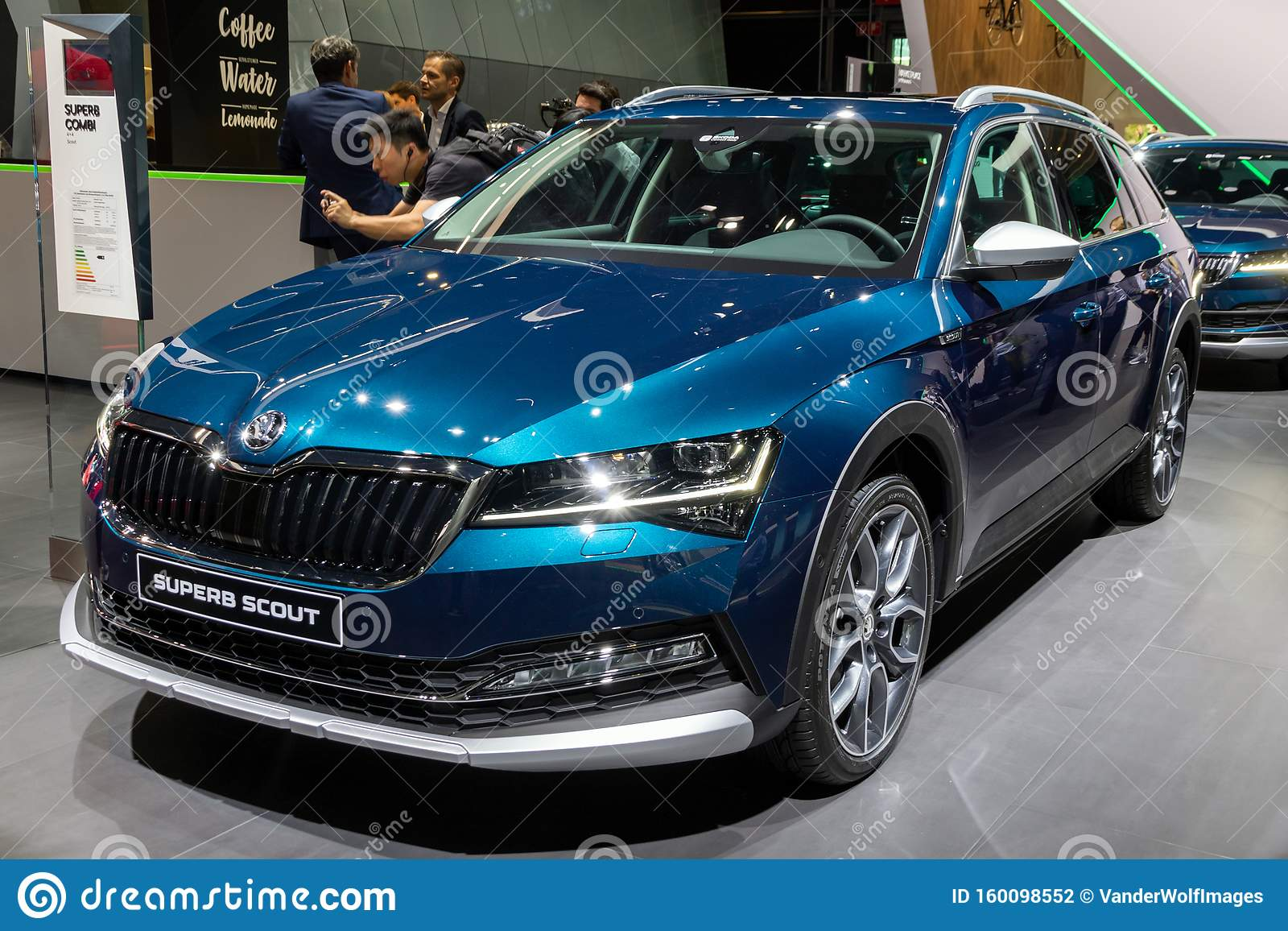 New 2020 Skoda Superb Scout Car Editorial Photography ...