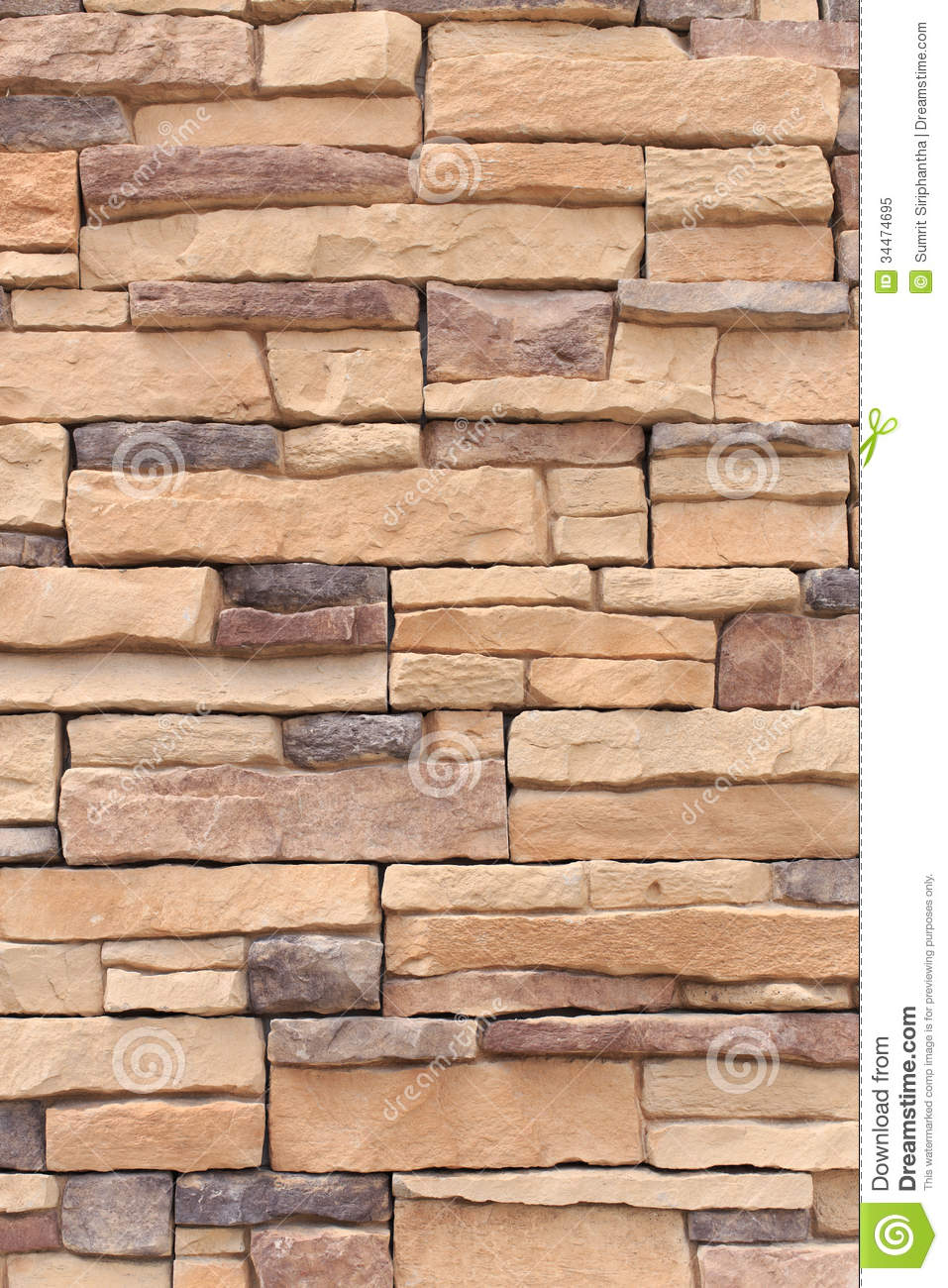 Marble Wall Cladding Details : New stone wall cladding stock image of slate beige