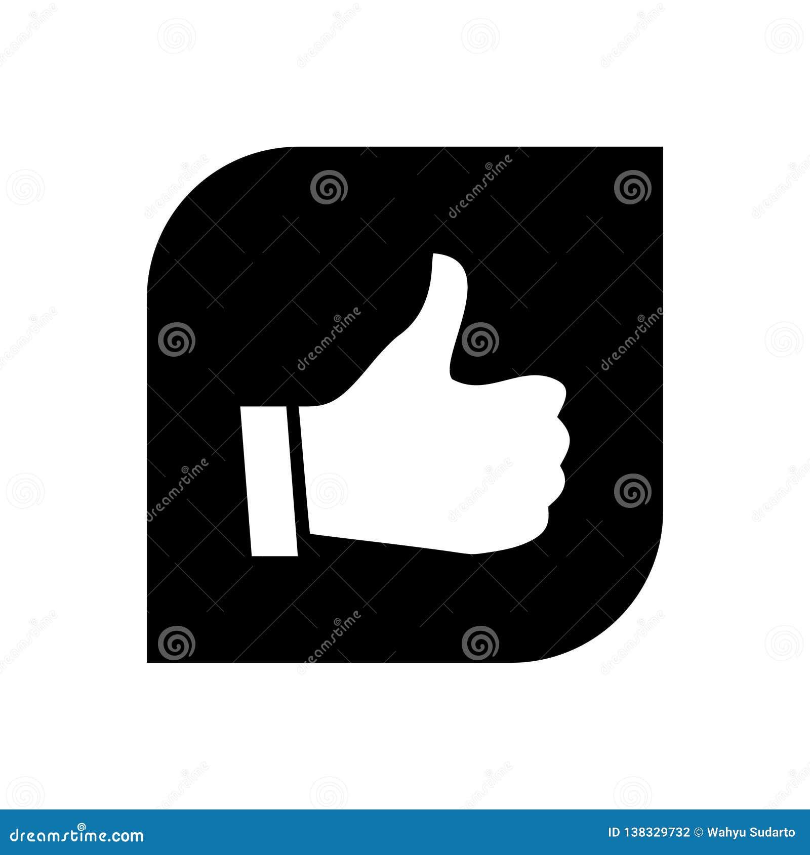 New thumb up icon