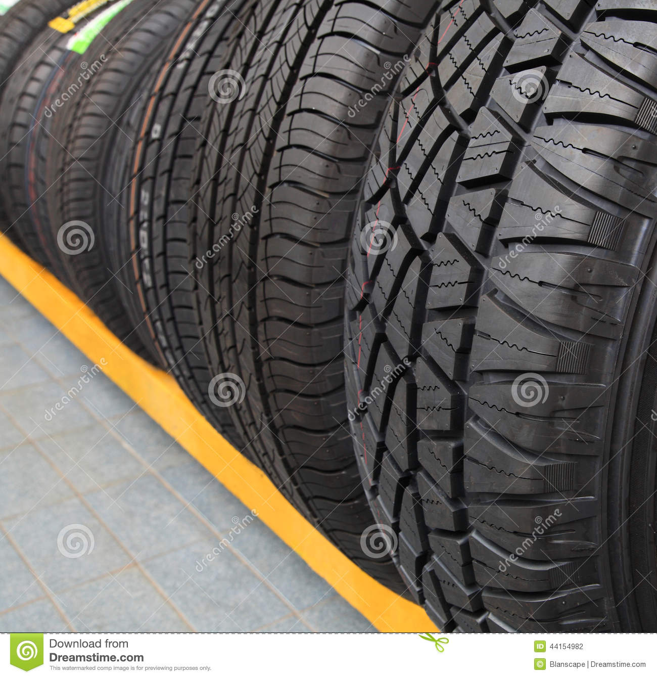 new tires for sale at a tire store stock photo image of macro drive 44154982. Black Bedroom Furniture Sets. Home Design Ideas
