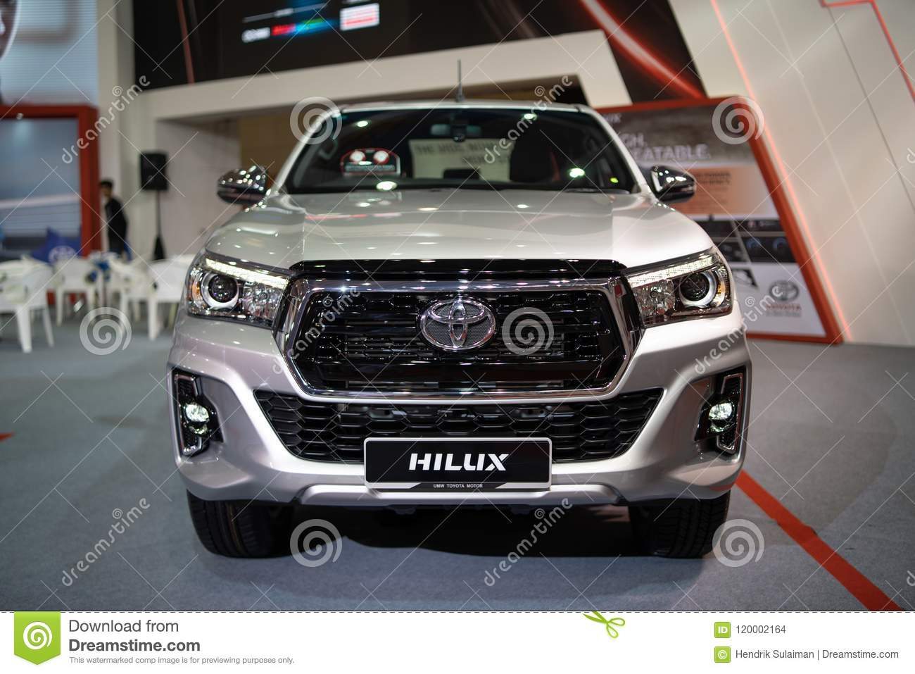 New Toyota Hilux 2018 Editorial Stock Image Image Of Toyota 120002164