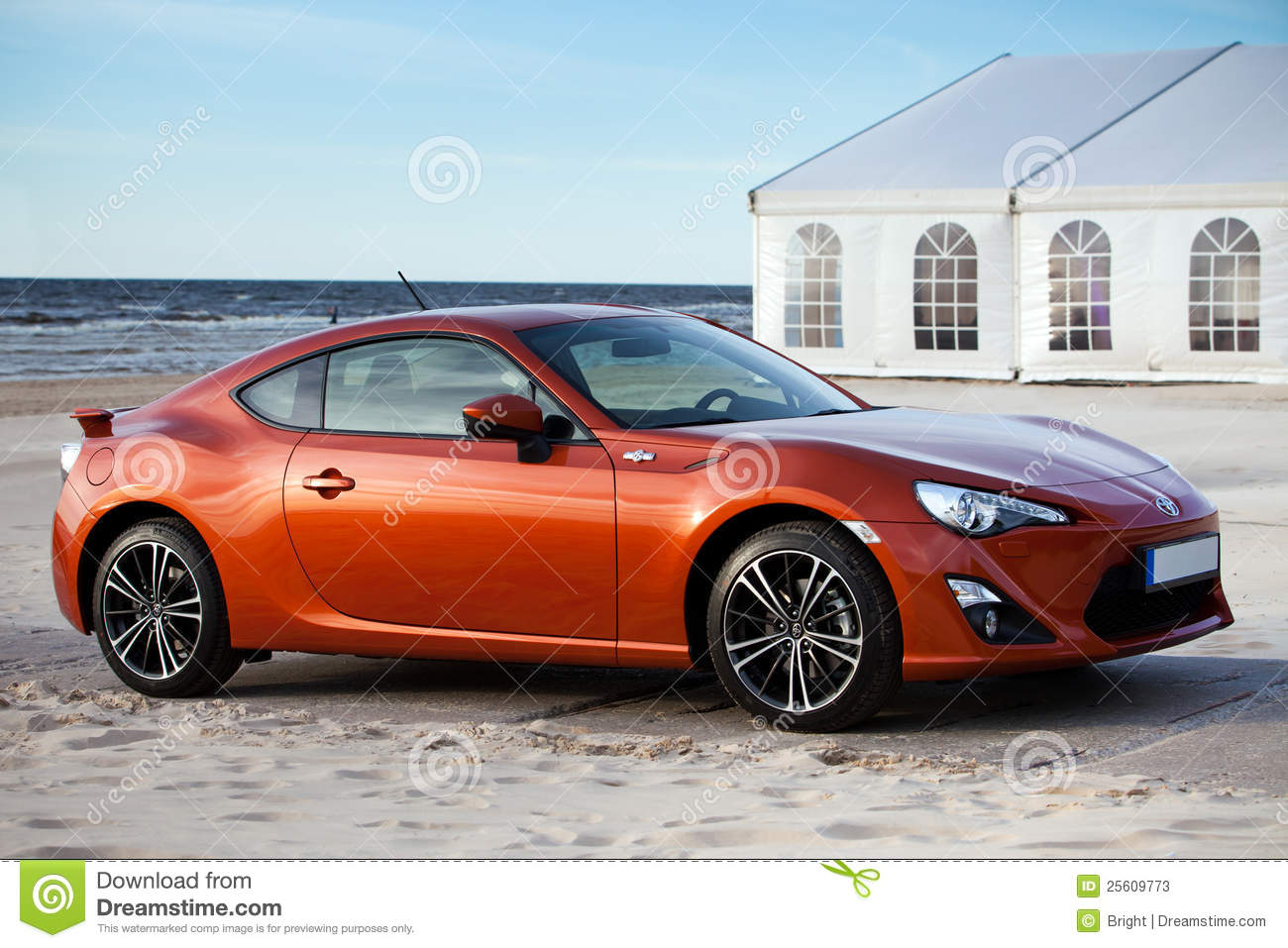 New Toyota Sports Car Editorial Stock Photo - Image: 25609773