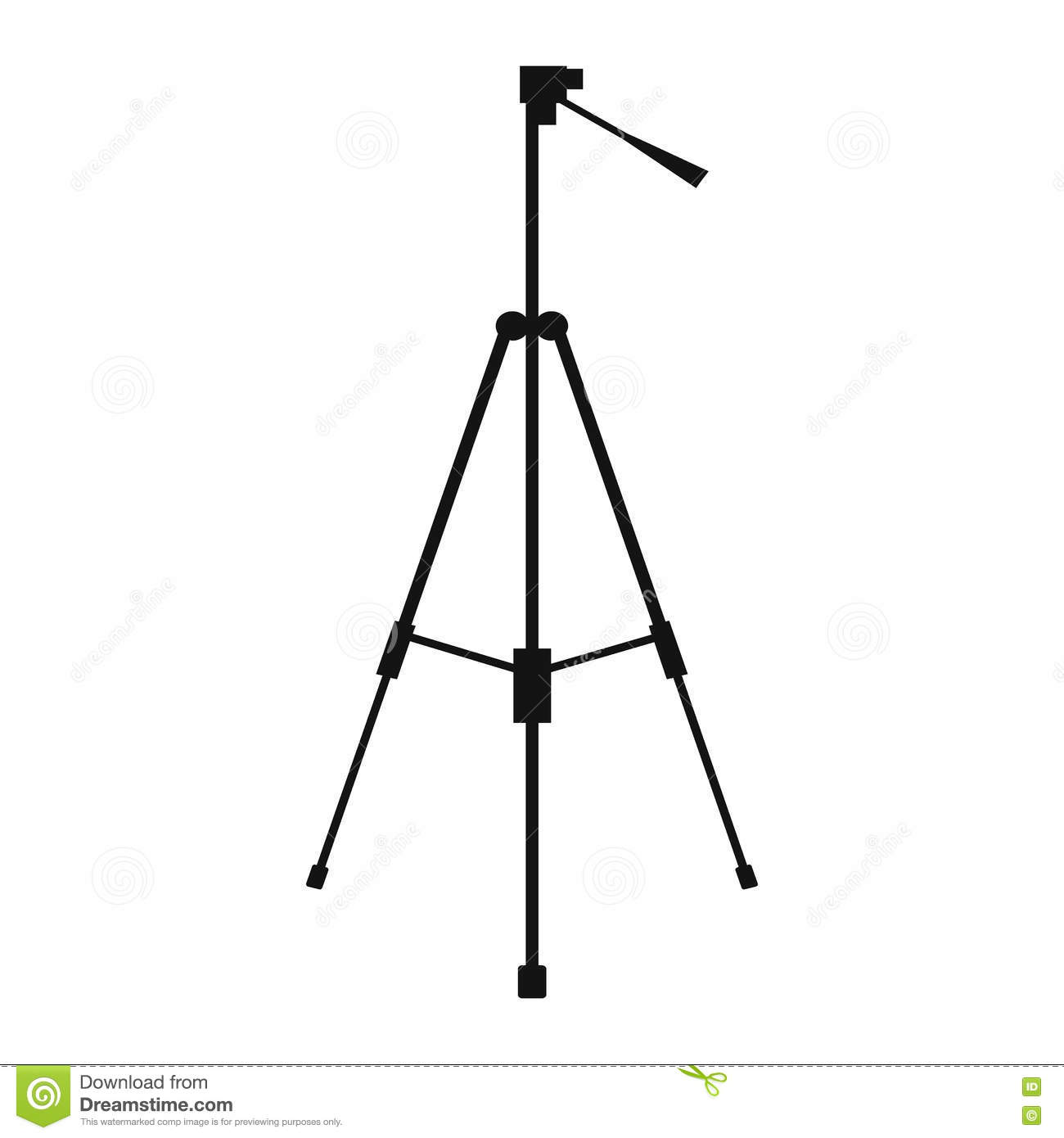 tripod icon company logo business symbol concept cartoon
