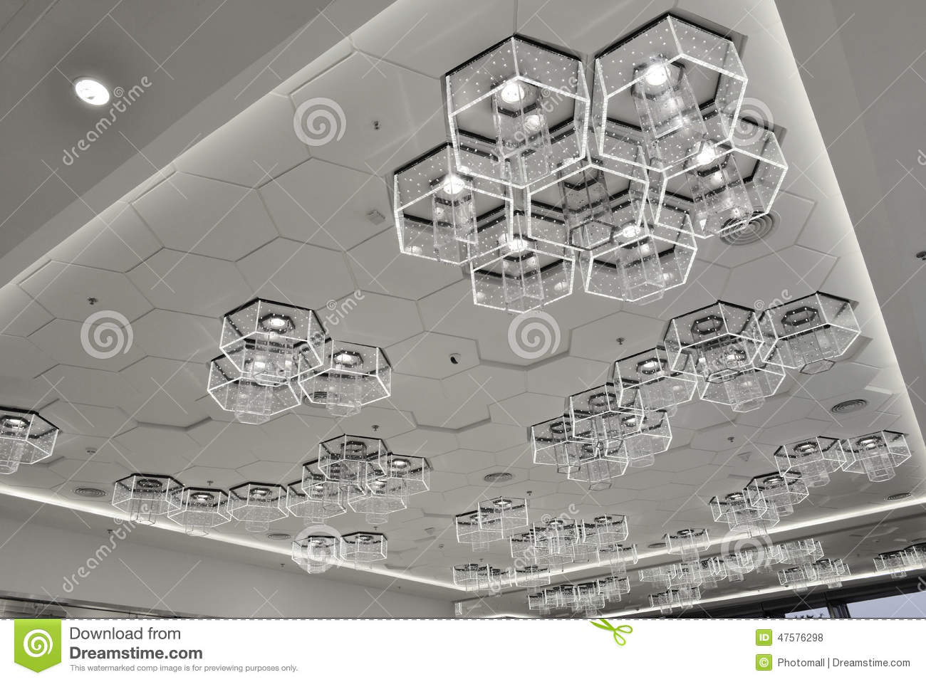 New type of LED bulbs used in modern Commercial building decoration,energy saving lamp