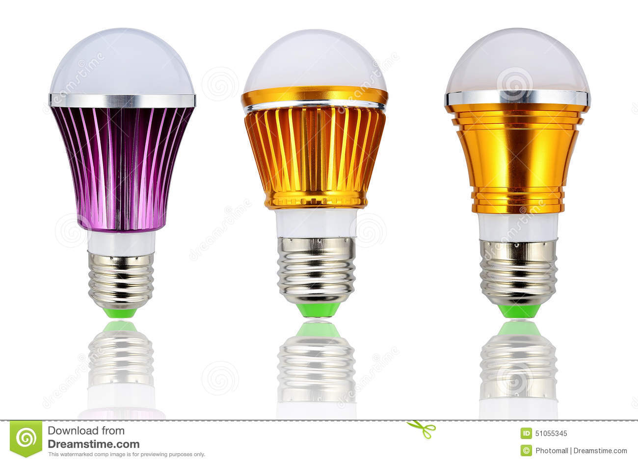 New Type Led Lamp Bulb Or Energy Saving Led Light Bulb Stock Photo Image 51055345