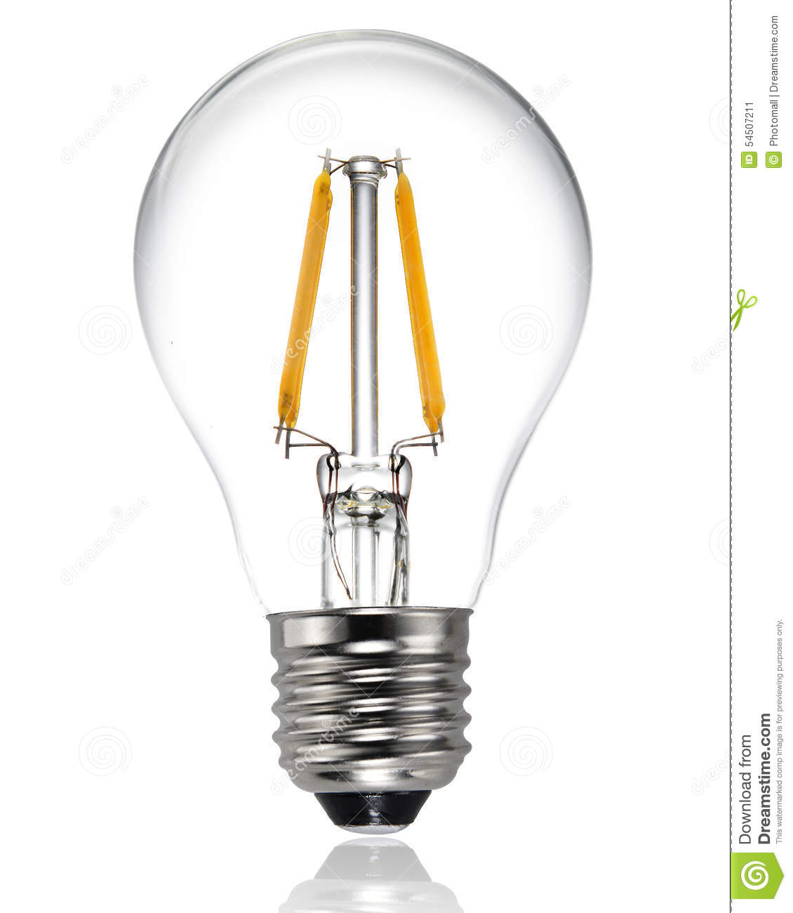 New Type Led Light Bulb Stock Photo