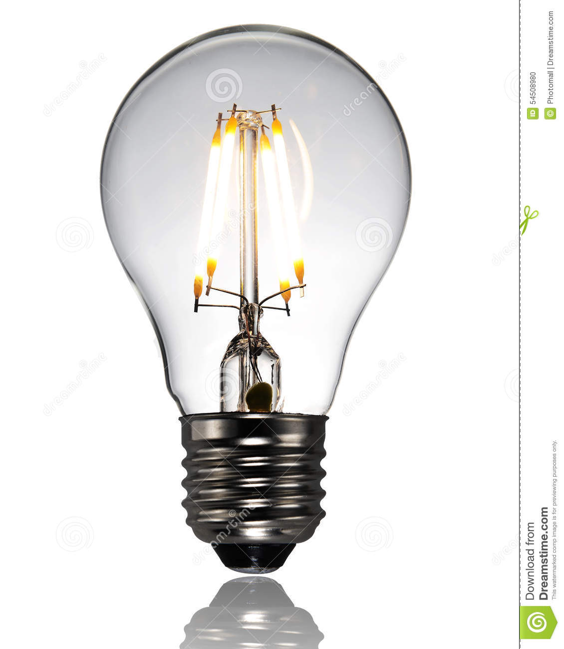 New Type Led Lamp Bulb Stock Photo Image 54508980