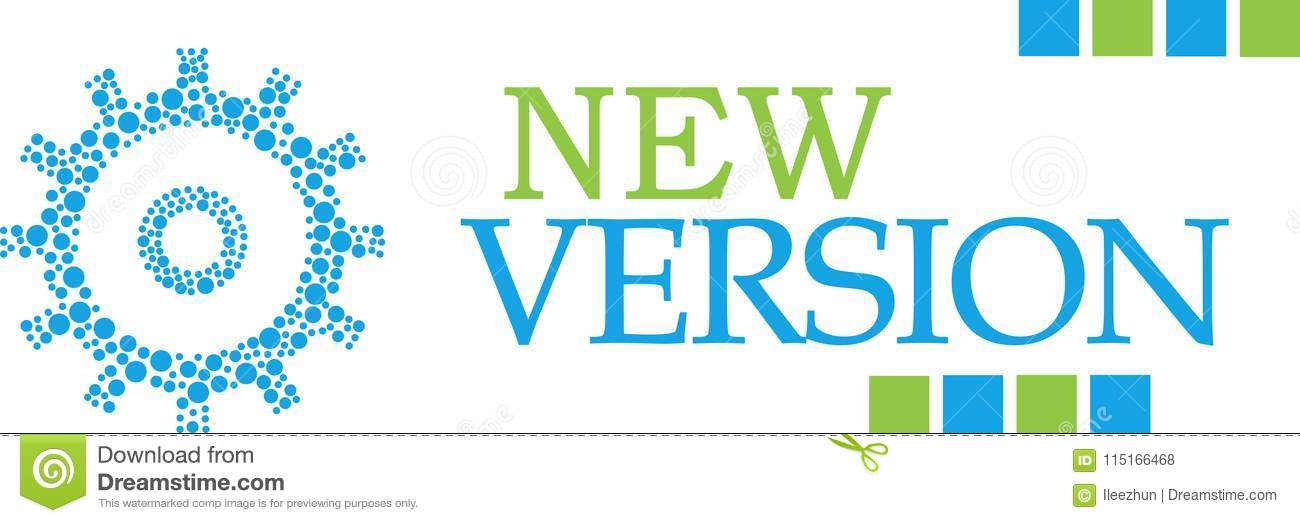 New Version Dotted Gear Green Blue Horizontal