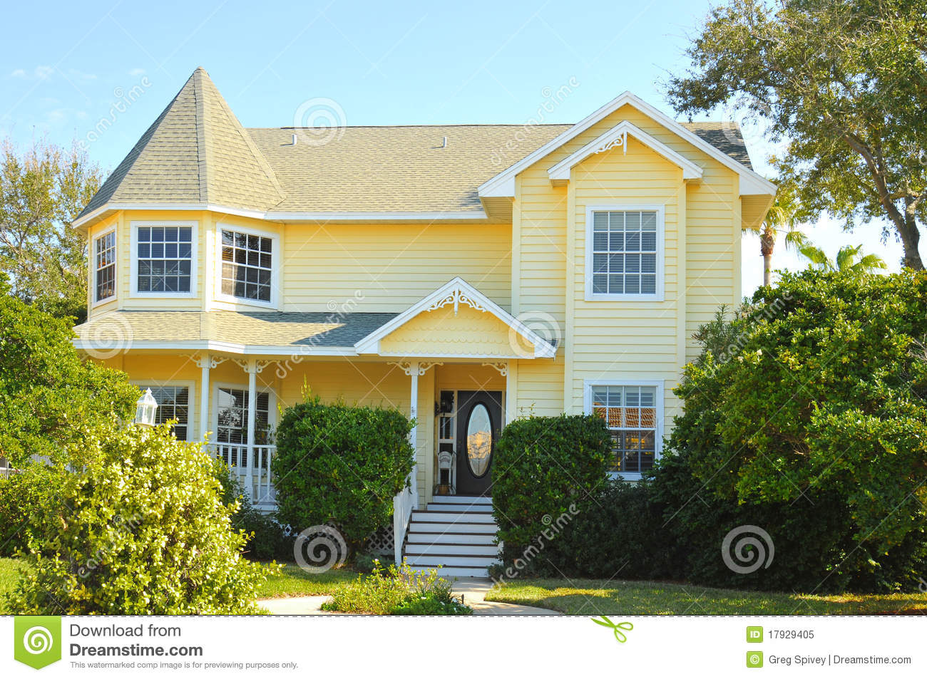 New Victorian Home Royalty Free Stock Photo Image 17929405