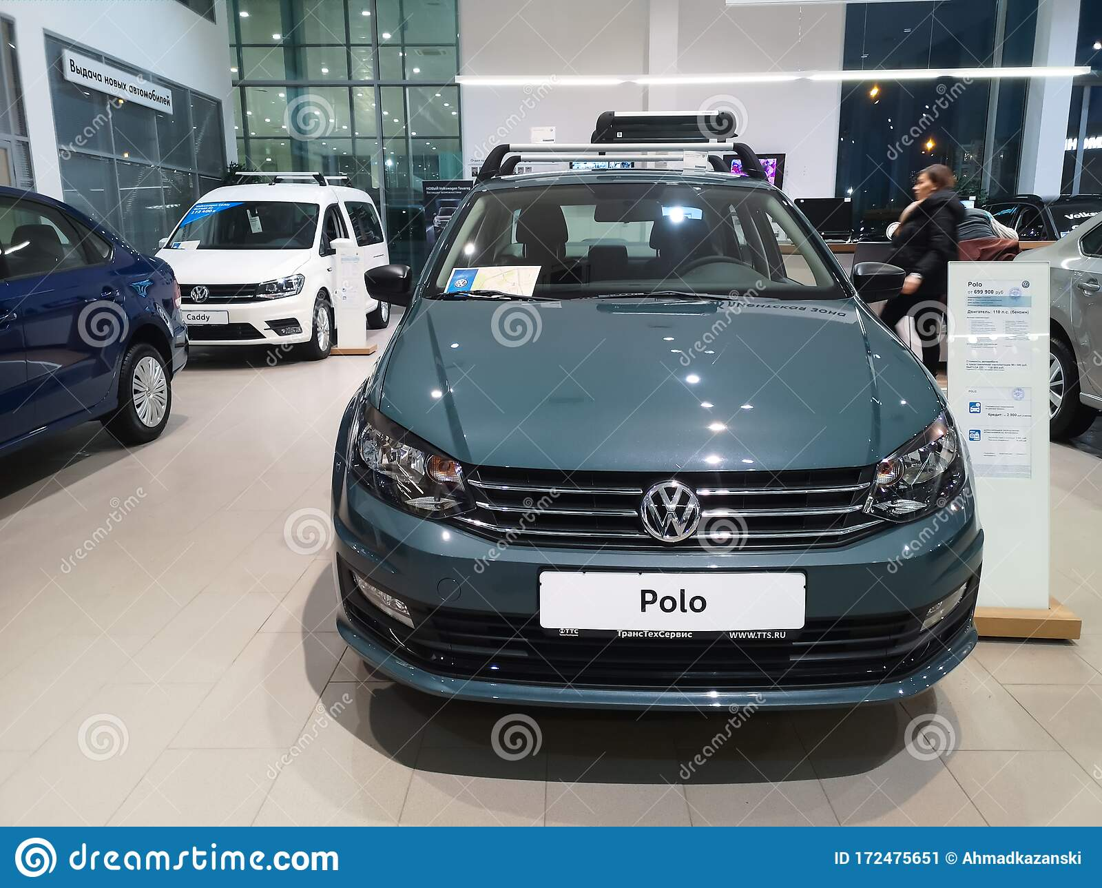 New Volkswagen Polo Sedan Front In Auto Show February 05 2020 In Russia Kazan Decabrists Street 81 Editorial Photo Image Of Showroom Sixth 172475651