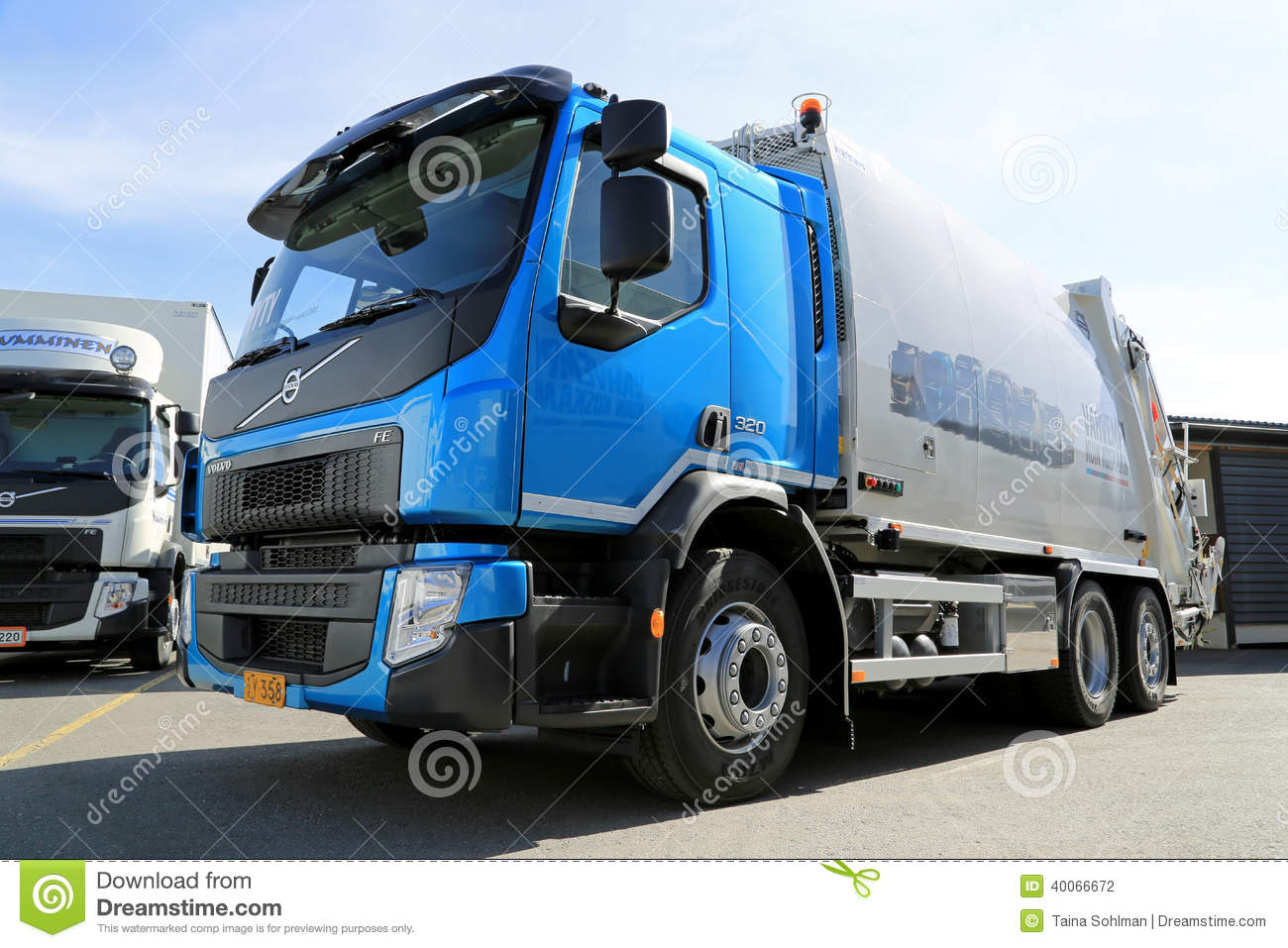 New Volvo FE Truck Editorial Photography - Image: 40066672