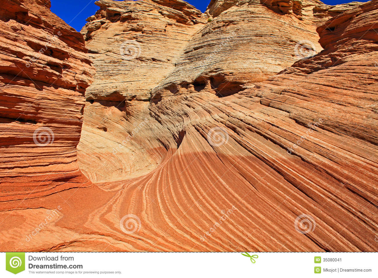 The New Wave Close Up Stock Image. Image Of Nature