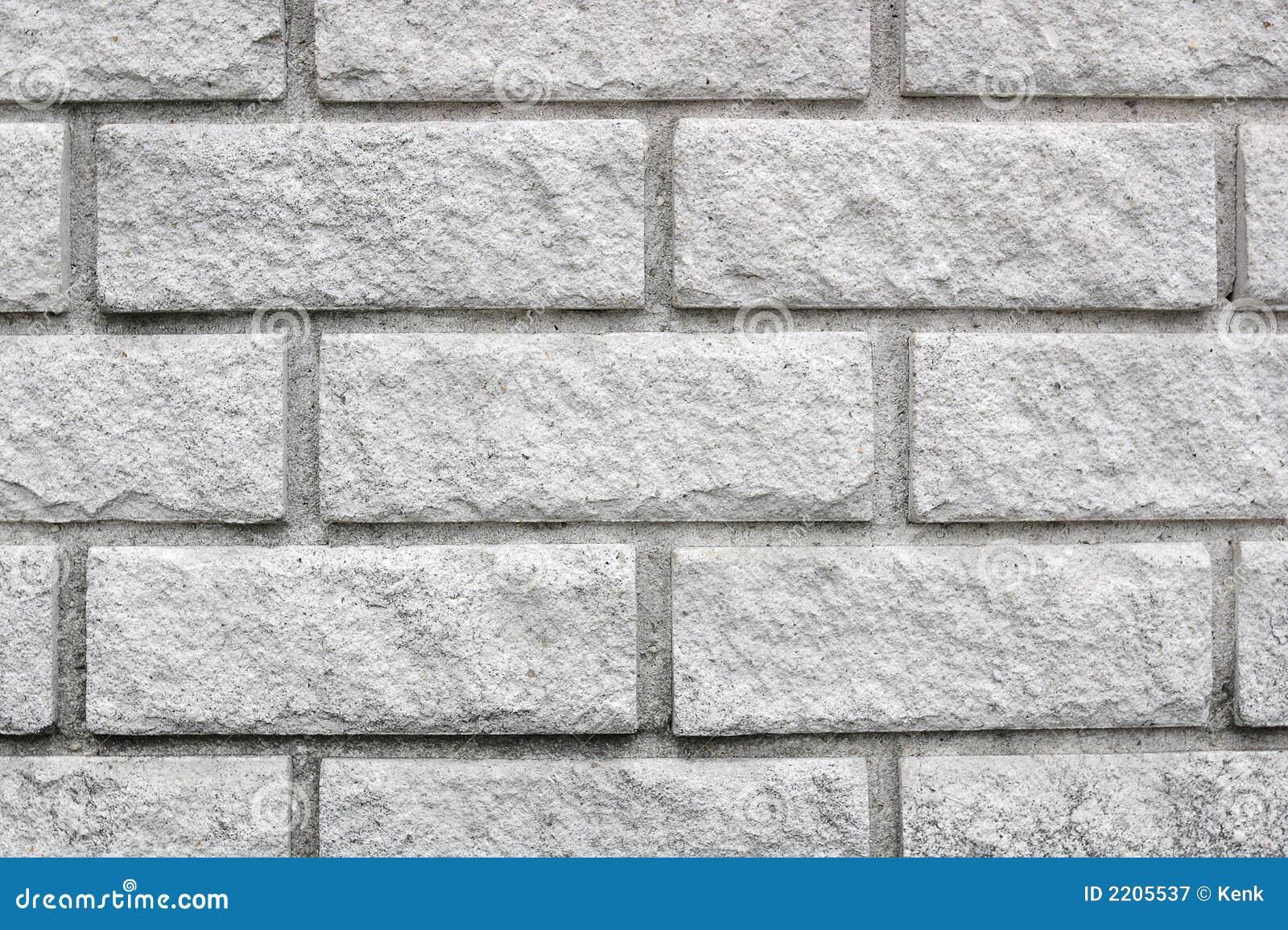 New White Brick Wall Royalty Free Stock Photography