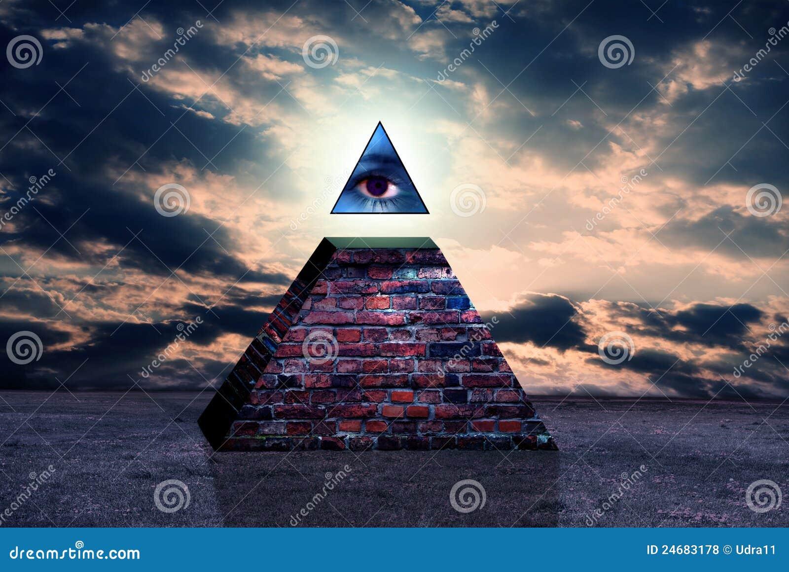 World News Gallery: New World Order Sign Of Illuminati Stock Illustration