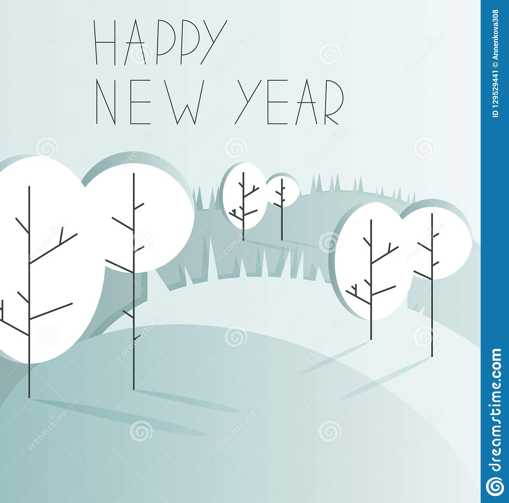 new year background with copy space