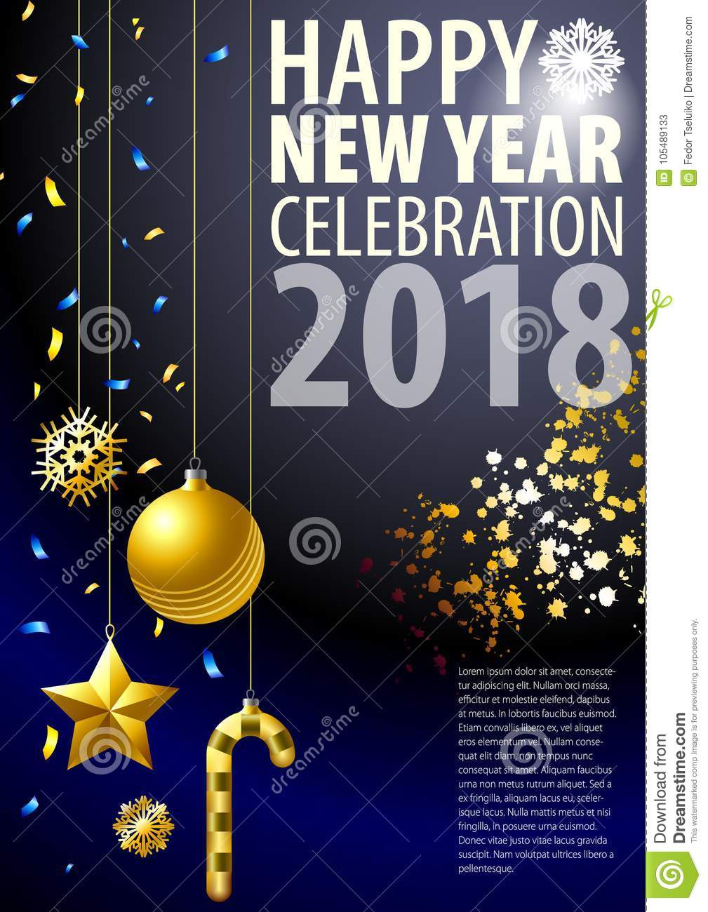 new year blank template for new year on christmas holiday new years accessories are in the composition
