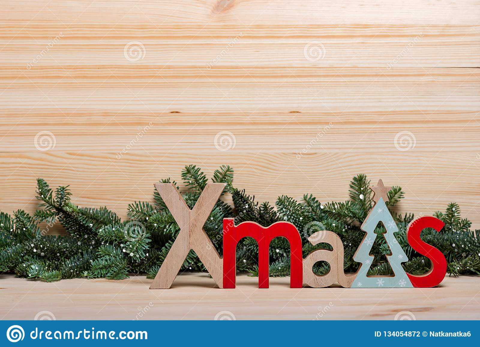 New Year Card Christmas Card New Years Wooden Letters Christmas