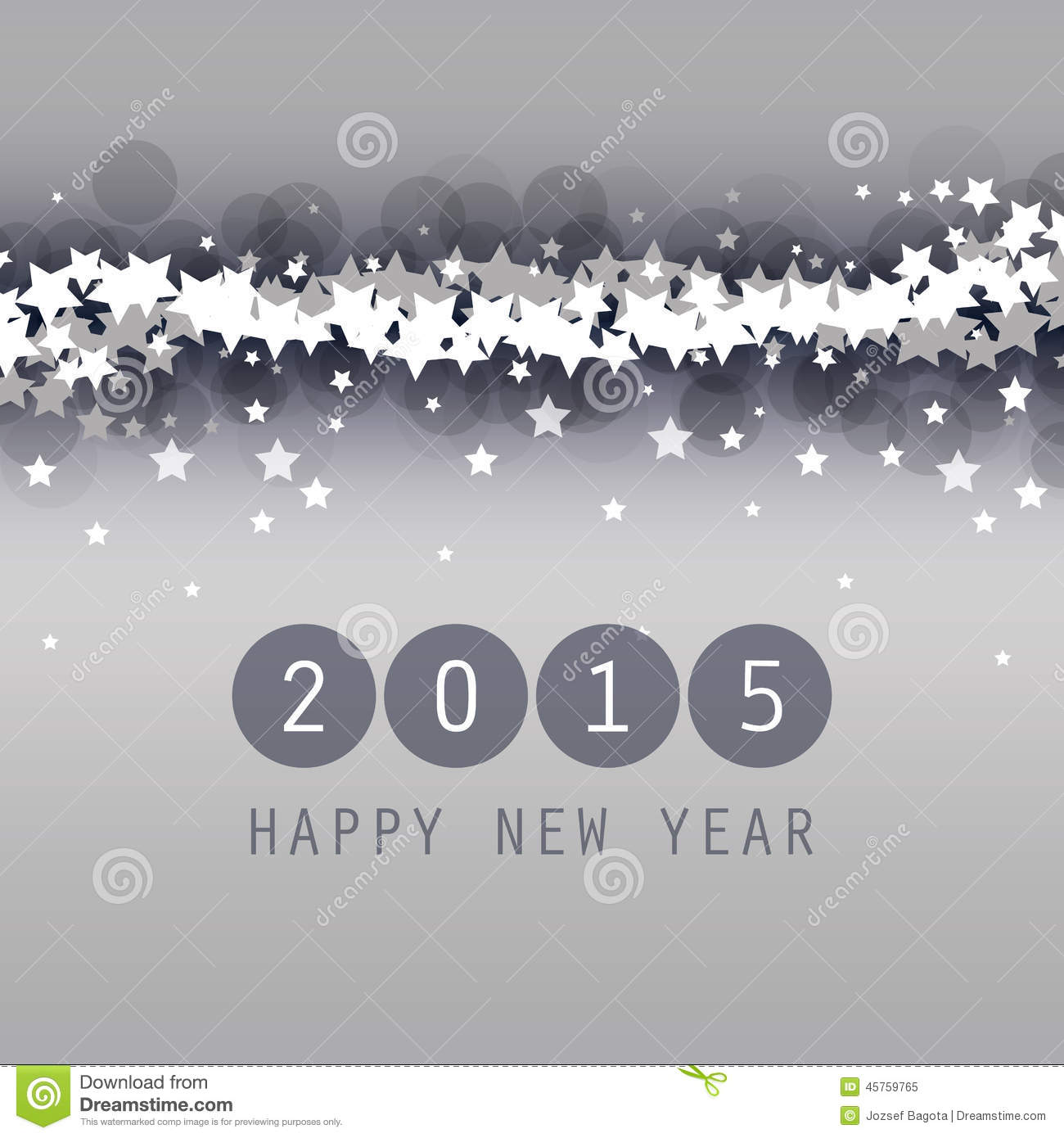 new year card  cover or background template