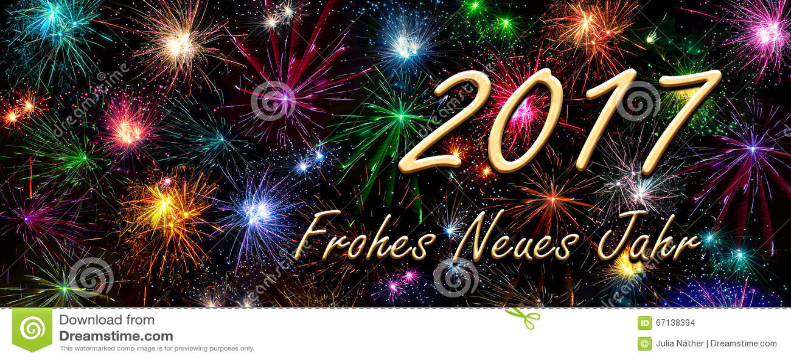 2017 Frohes Neues Jahr