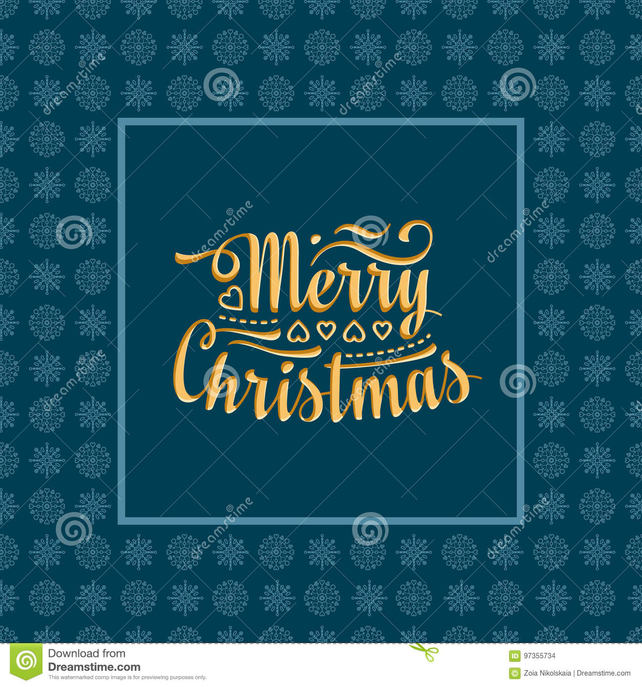 new year card holiday colorful decor lettering composition with phrase