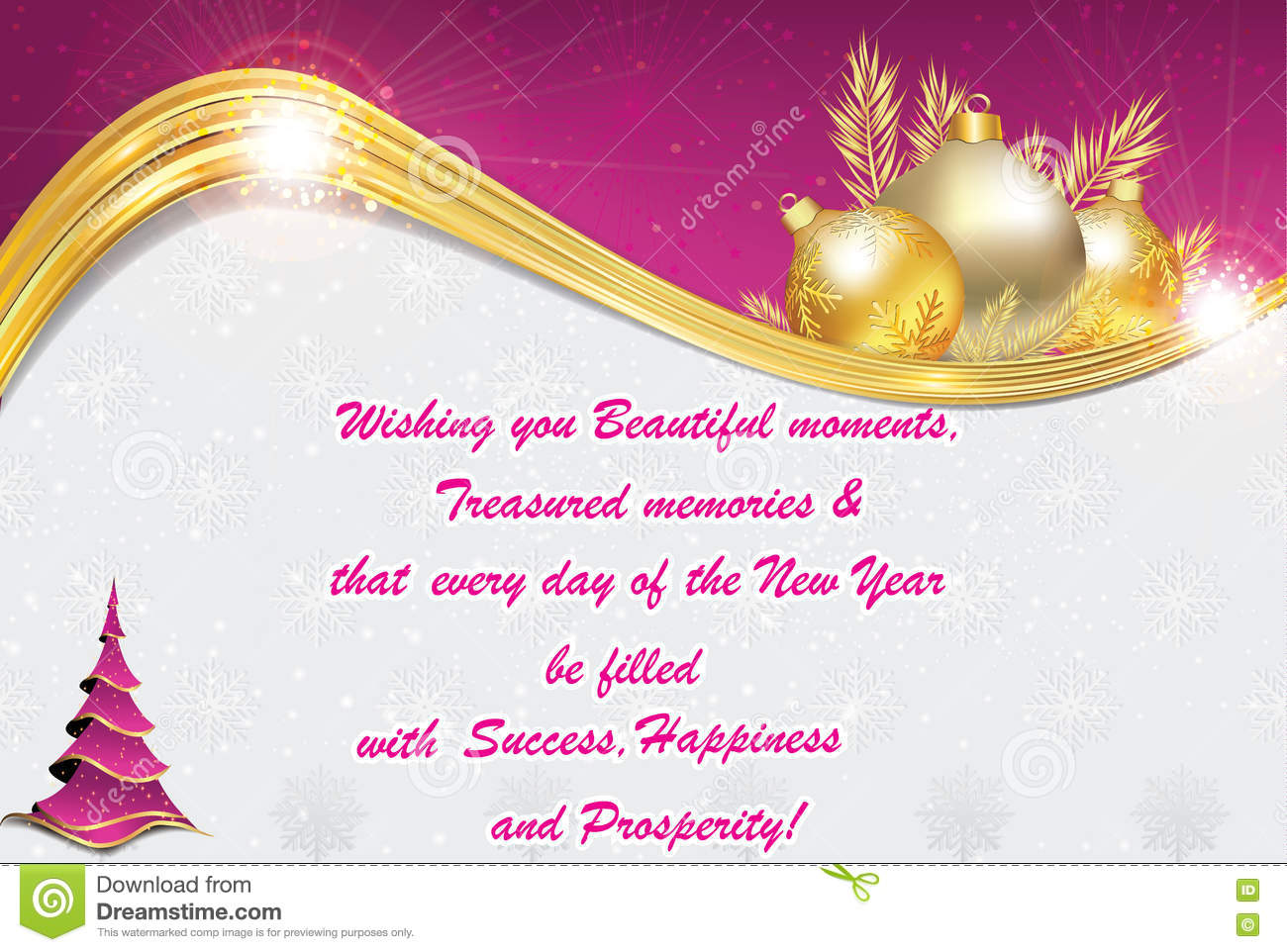 new year and chinese greeting card also for print stock photo